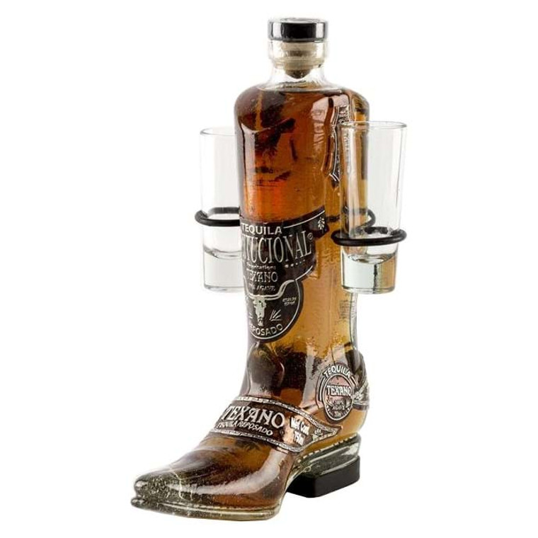TEXANO COWBOY BOOT GOLD TEQUILA 750 ML