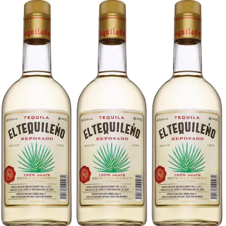 ELTEQUILENO REPOSADO 100% AGAVE TEQUILA 750 ML