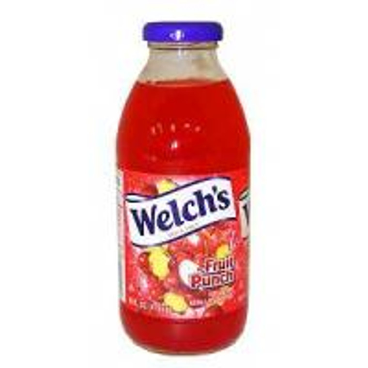 Welch's Fruit Punch 16 Oz