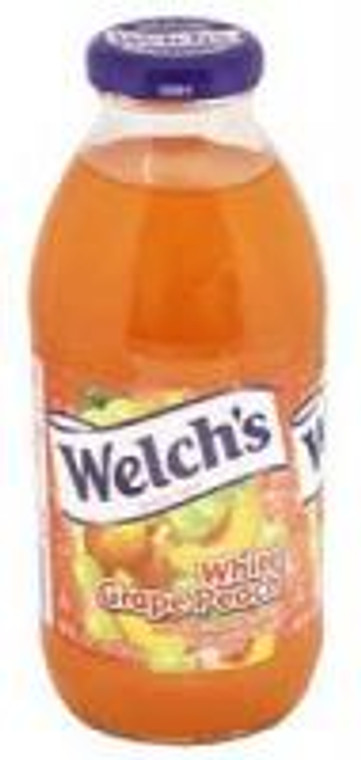 Welch's White Grape Peach 16 Oz