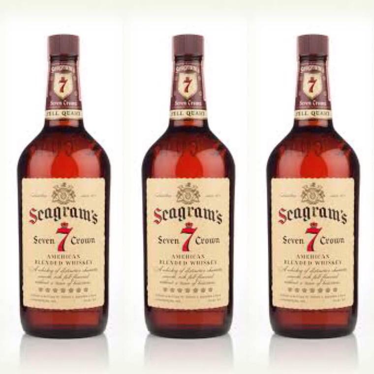 Seagram's 7 Crown Whiskey, 1.75L