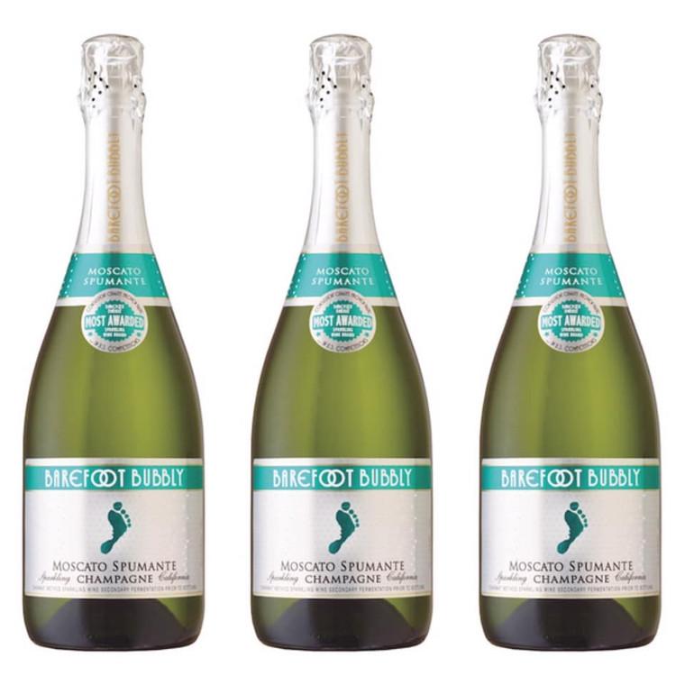 Barefoot Bubbly Moscato Wine, 750 mL