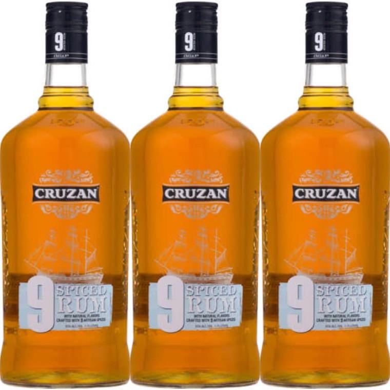 Cruzan 9 Spiced Rum 1.75L
