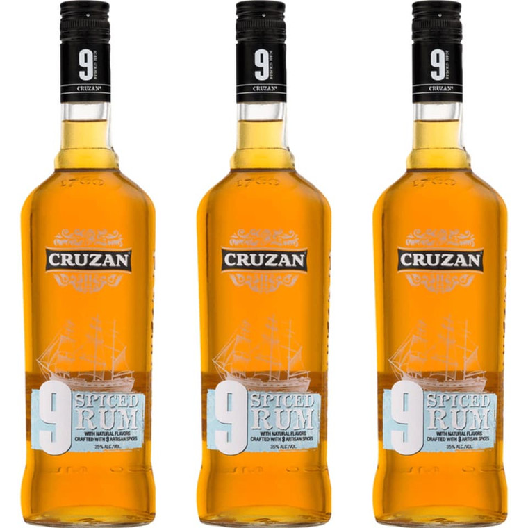 Cruzan 9 Spiced Rum 750 ml
