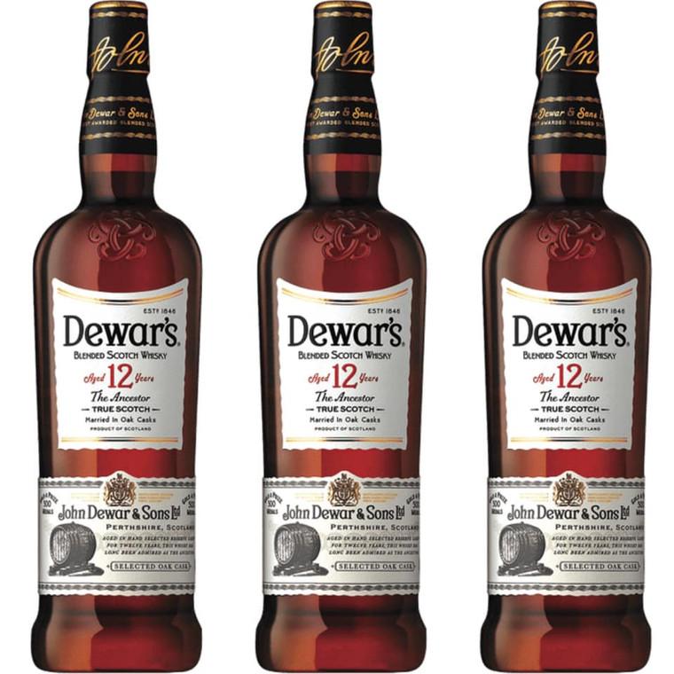 Dewar's 12 Year Old The Ancestor Blended Scotch Whiskey  750 ml