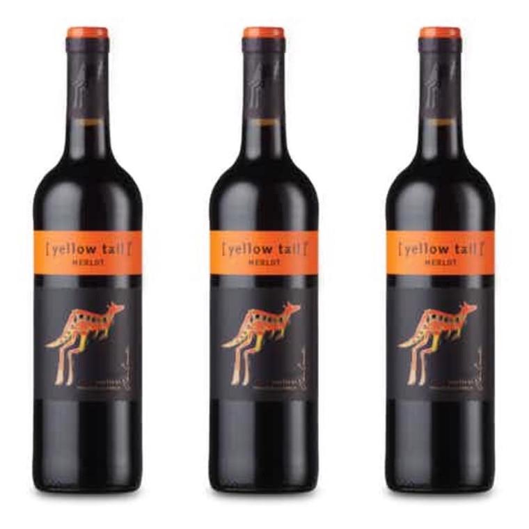 Yellow Tail Merlot Wine, 750 mL