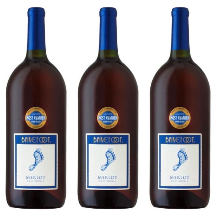 Barefoot Cellars Merlot Wine, 1.5 L