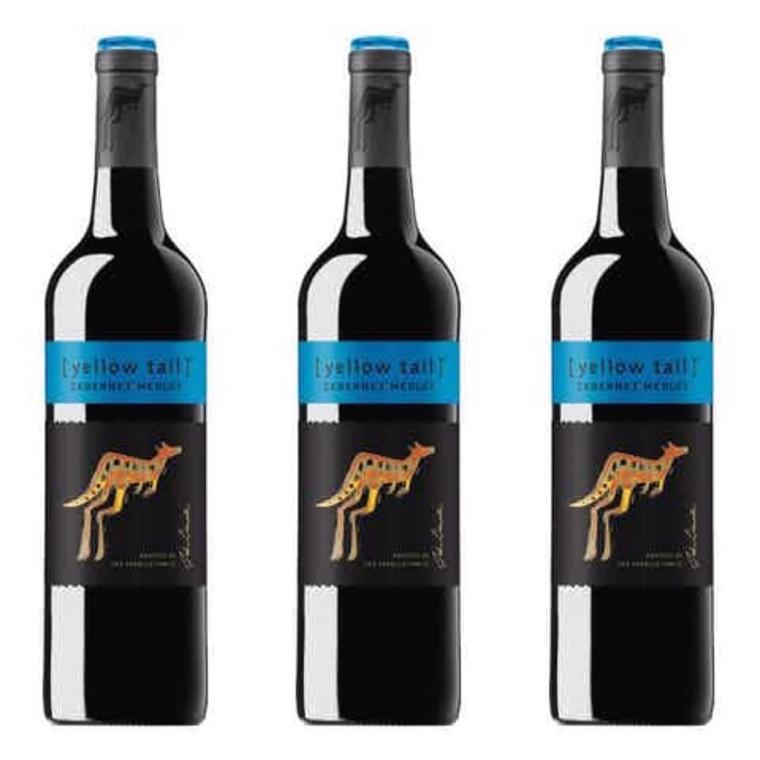Yellow Tail Cabernet Merlot Wine, 750 mL