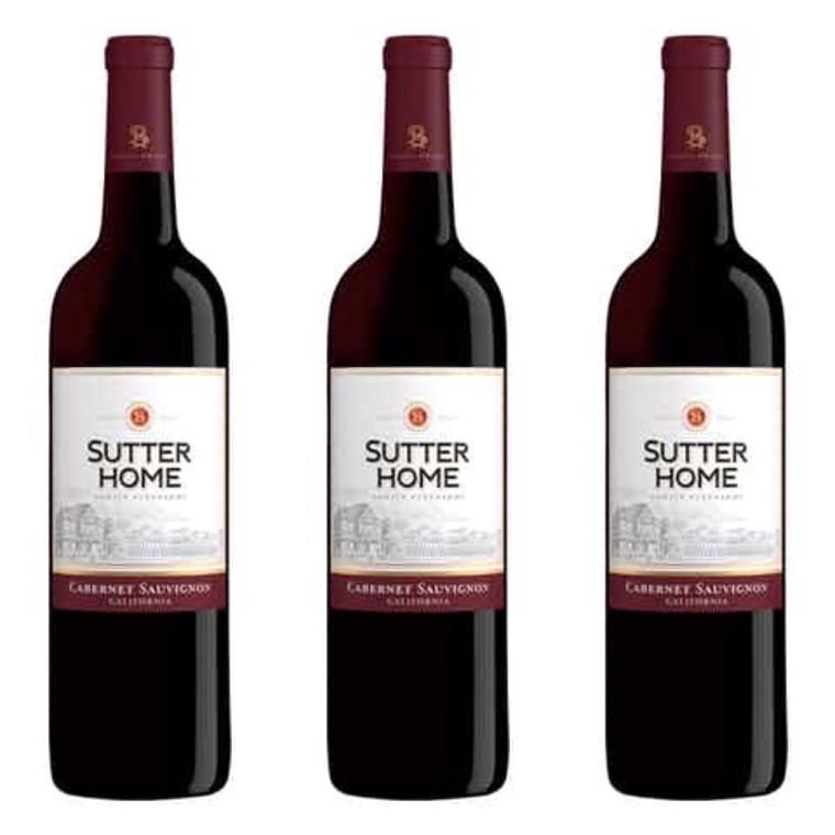 Sutter Home Cabernet Sauvignon Wine, 750 mL