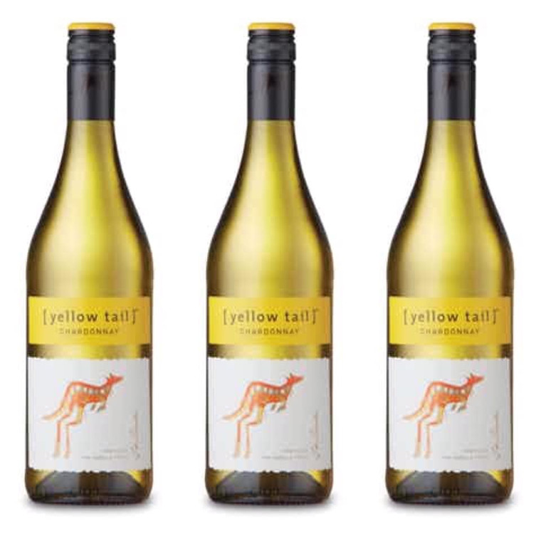 Yellow Tail Chardonnay Wine, 750 mL