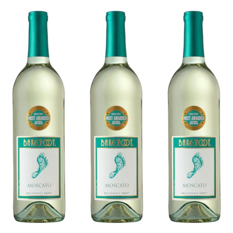 Barefoot Cellars Moscato Wine, 750 mL