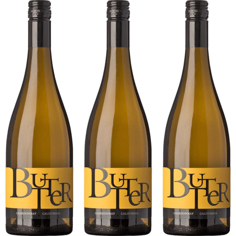 Butter Chardonnay Wine 750 ml