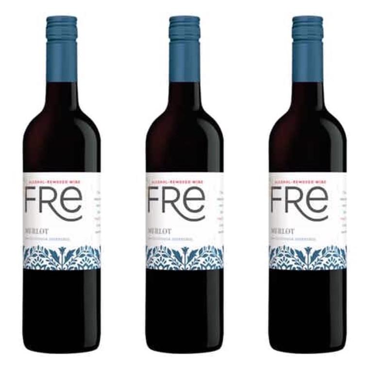 Sutter Home Fre Merlot Wine 750 ml