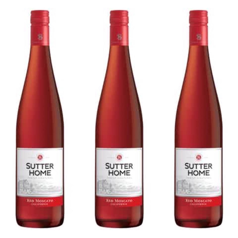 Sutter Home Red Moscato Wine 750 ml