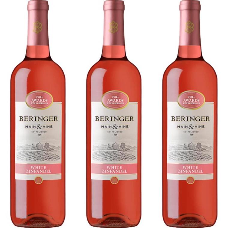 Beringer White Zinfandel Wine 750 ml