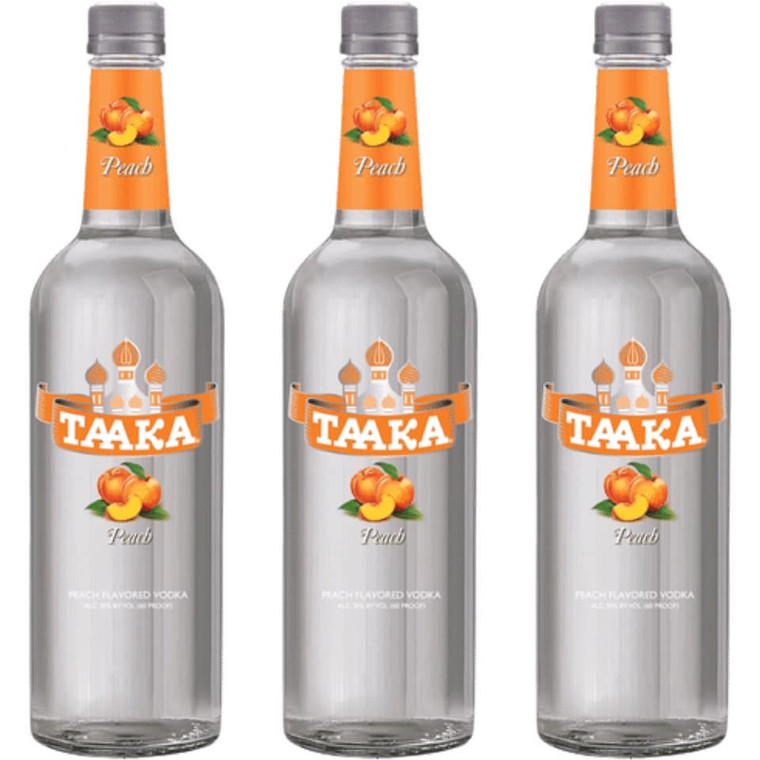 Taaka Peach Vodka 750 ml