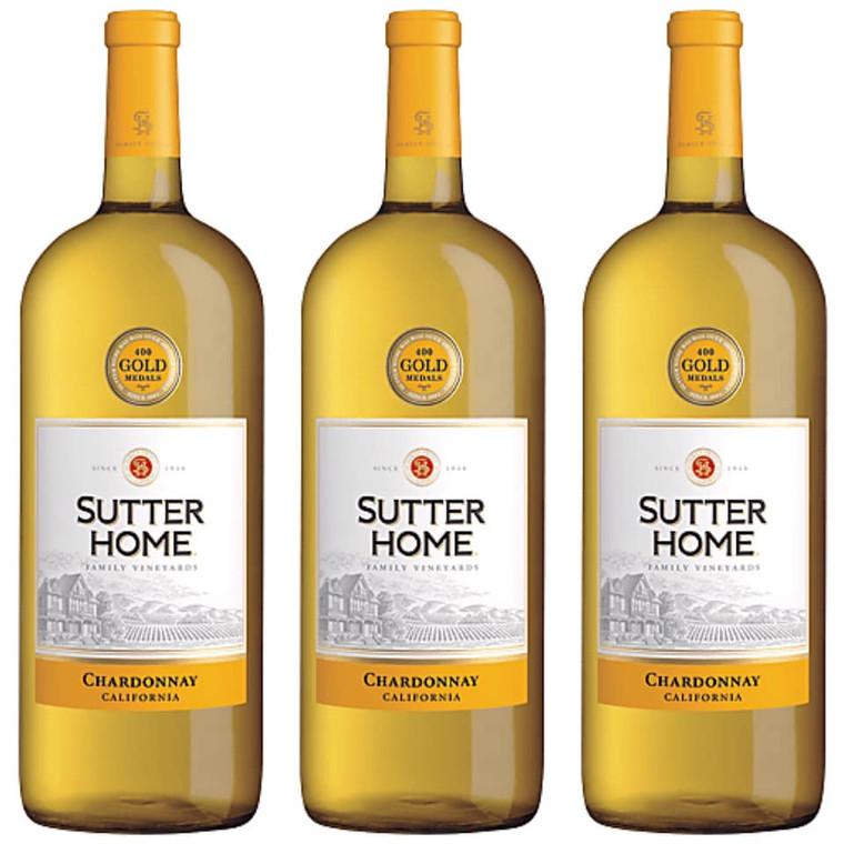 Sutter Home Chardonnay Wine - 1.5L