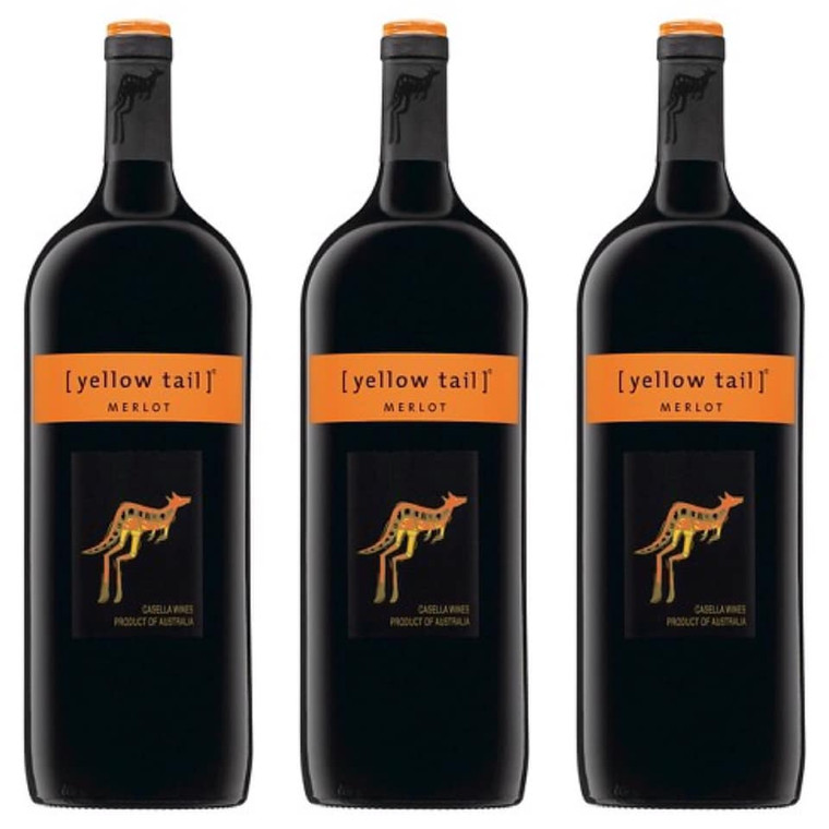 Yellow Tail Merlot Wine - 1.5L
