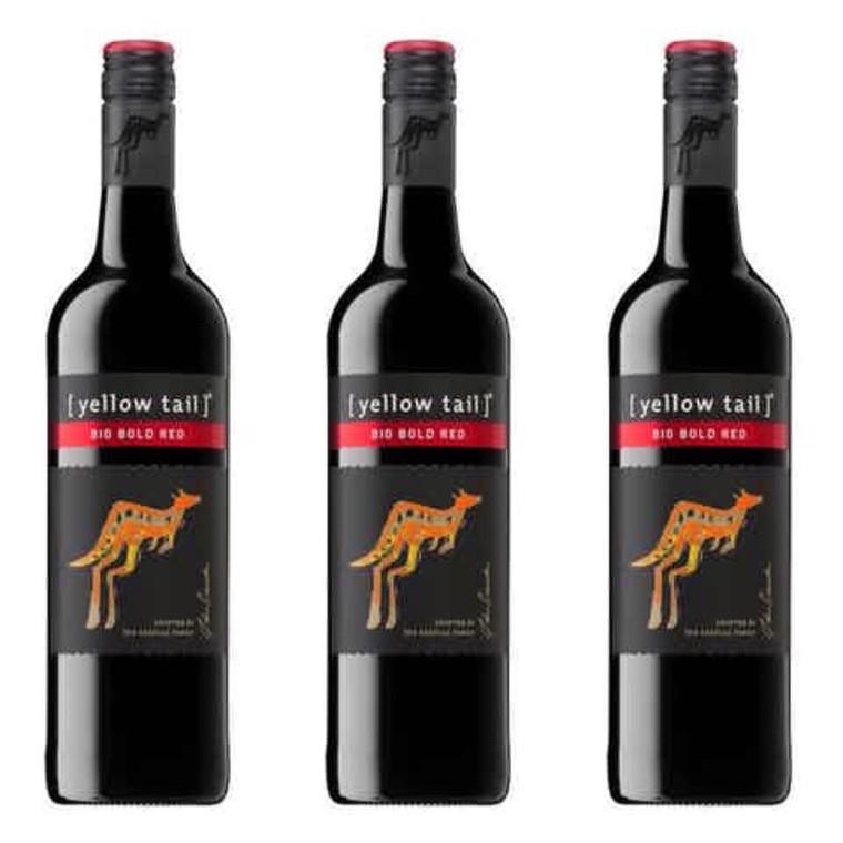 Yellow Tail Big Bold Red Wine - 750ml