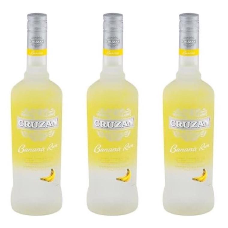 Cruzan Banana Rum, 750 mL