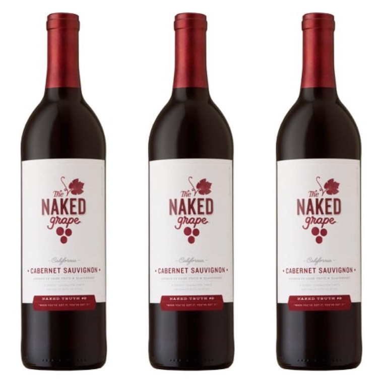 The Naked Grape Cabernet Sauvignon Wine - 750mL