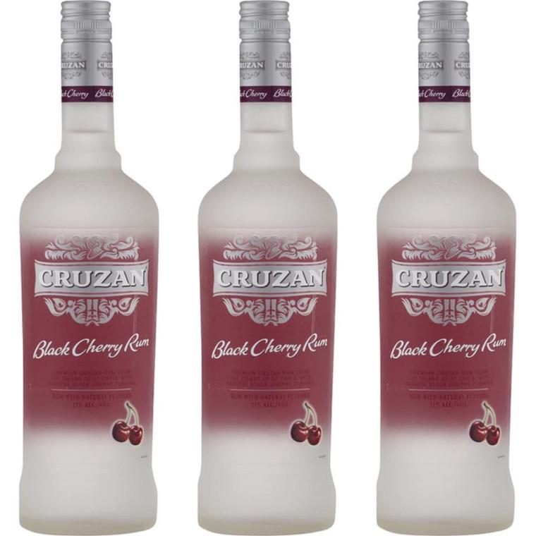 Cruzan Black Cherry Rum, 750 mL
