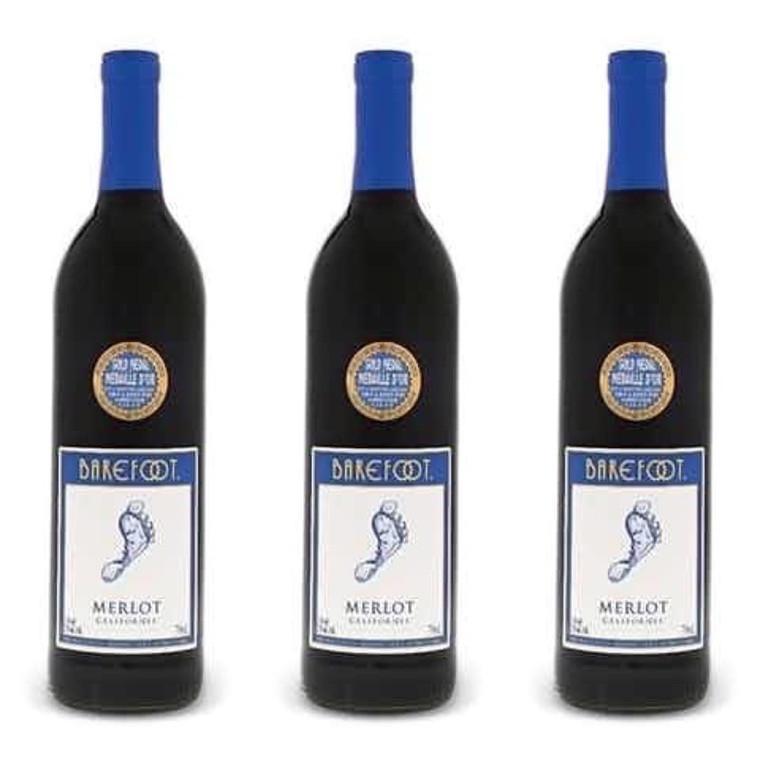 Barefoot Cellars Merlot Wine 750 ml