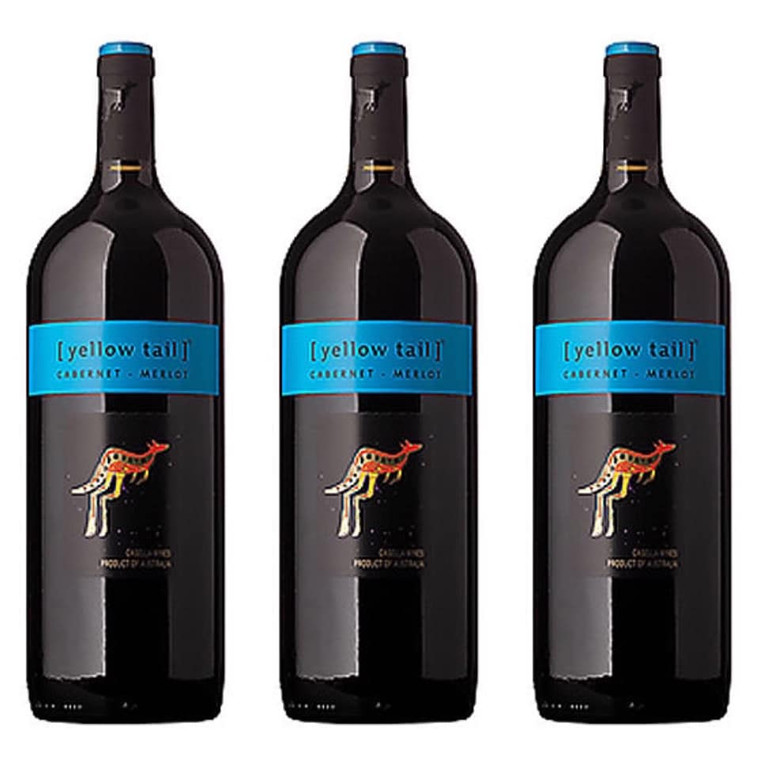 Yellow Tail Cabernet Merlot Wine 1.5 L