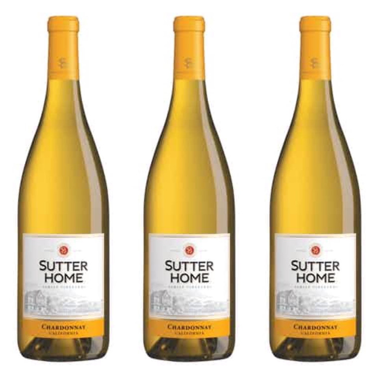 Sutter Home Chardonnay Wine 750ml