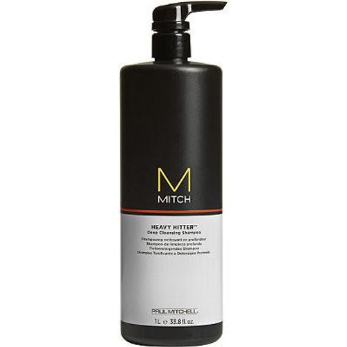 Mitch Heavy Hitter Deep Cleansing Shampoo 33.8oz