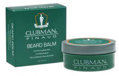 Clubman Beard Balm & Styling Wax, 2oz