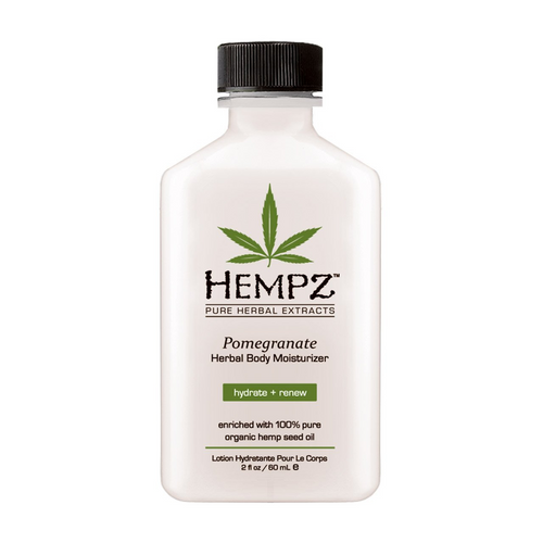 Hempz Pomegranate Herbal Body Moisturizer, 2-oz