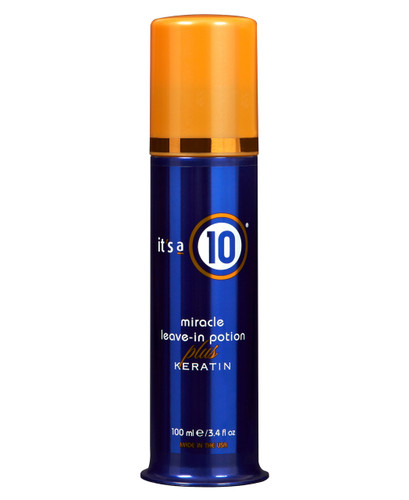 It's a 10 Miracle Leave-In Plus Keratin, 3.4-oz