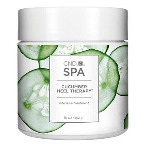 Creative Nail Design Spa Cucumber Heel Therapy, 15-oz