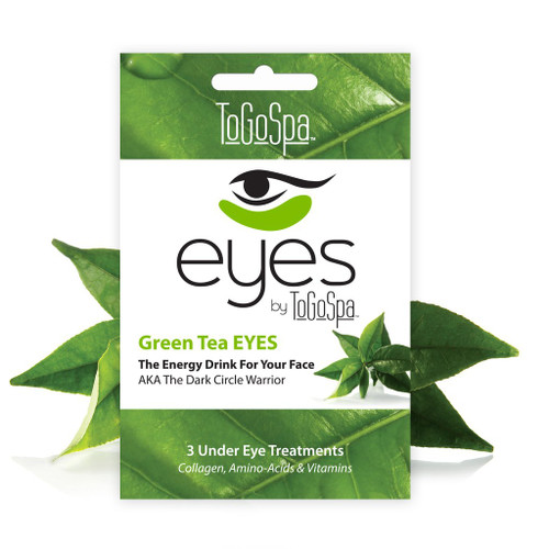 ToGoSpa Green Tea Eyes Collagen Gel Mask