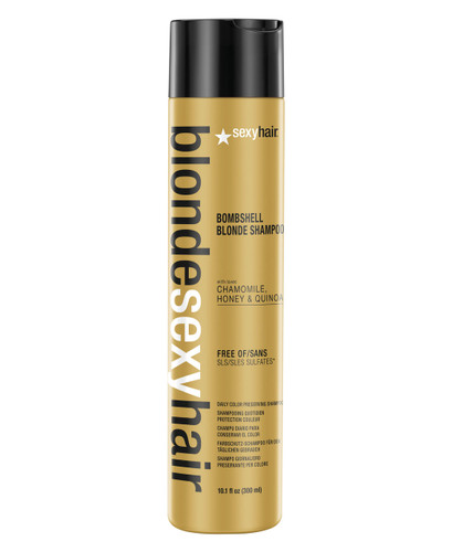 Blonde Sexy Hair Bombshell Blonde Daily Color Preserving Shampoo, 10.1 oz