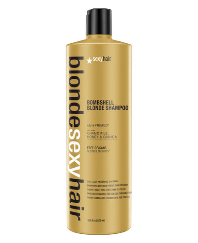 Blonde Sexy Hair Bombshell Blonde Daily Color Preserving Shampoo, 33.8 oz