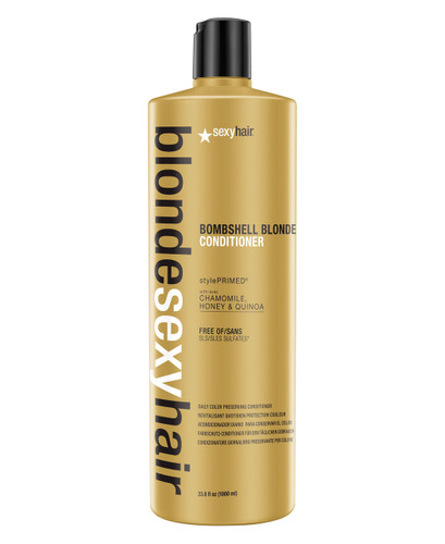 Blonde Sexy Hair Bombshell Blonde Daily Color Preserving Conditioner, 33.8 oz