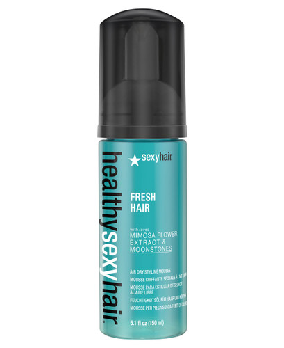 Healthy Sexy Hair Fresh Hair Air Dry Styling Mousse, 5.1oz