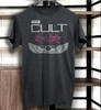 the Cult  band T shirt  band  on black southern death cult