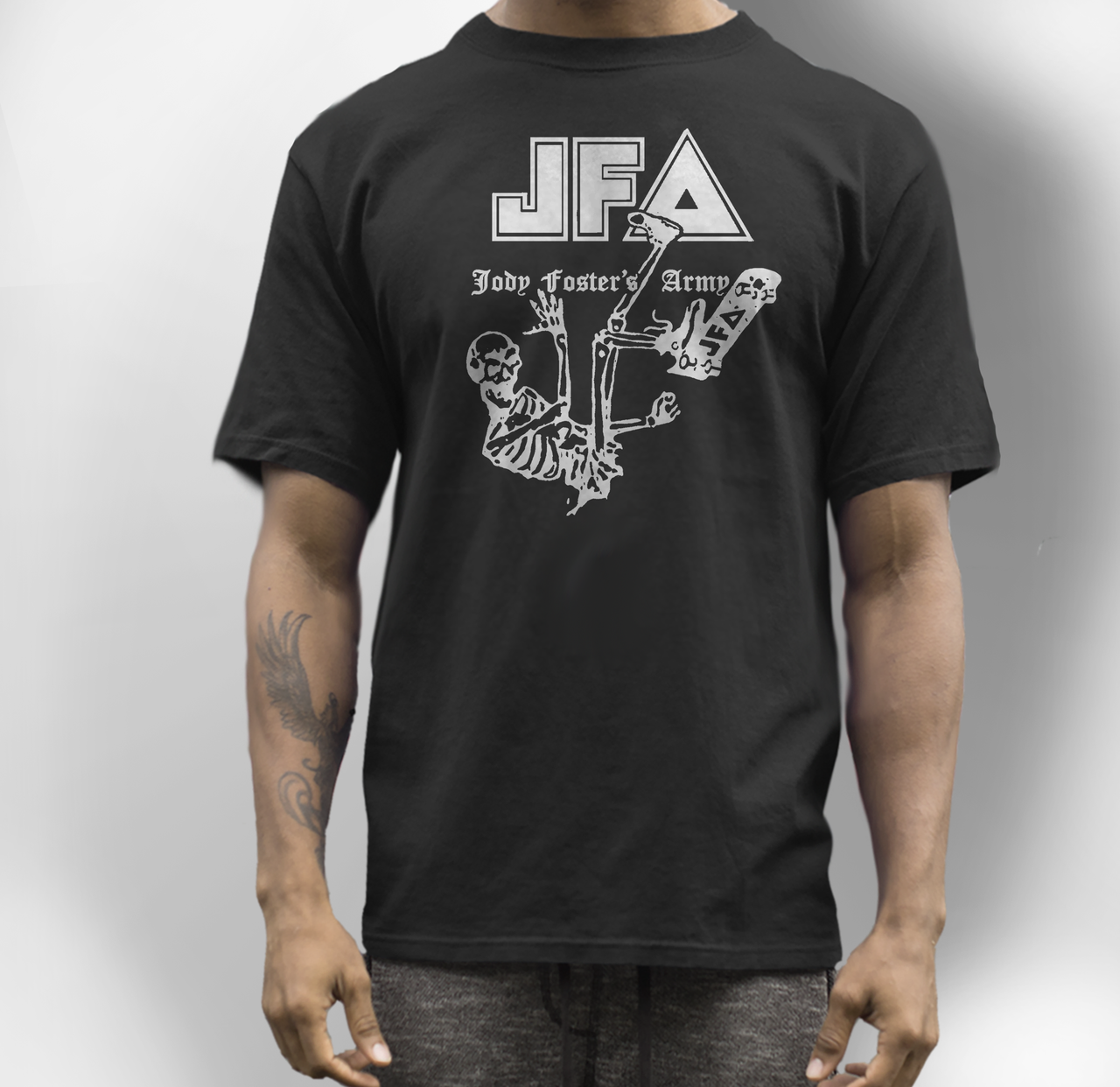 JFA band t shirt jody fosters army
