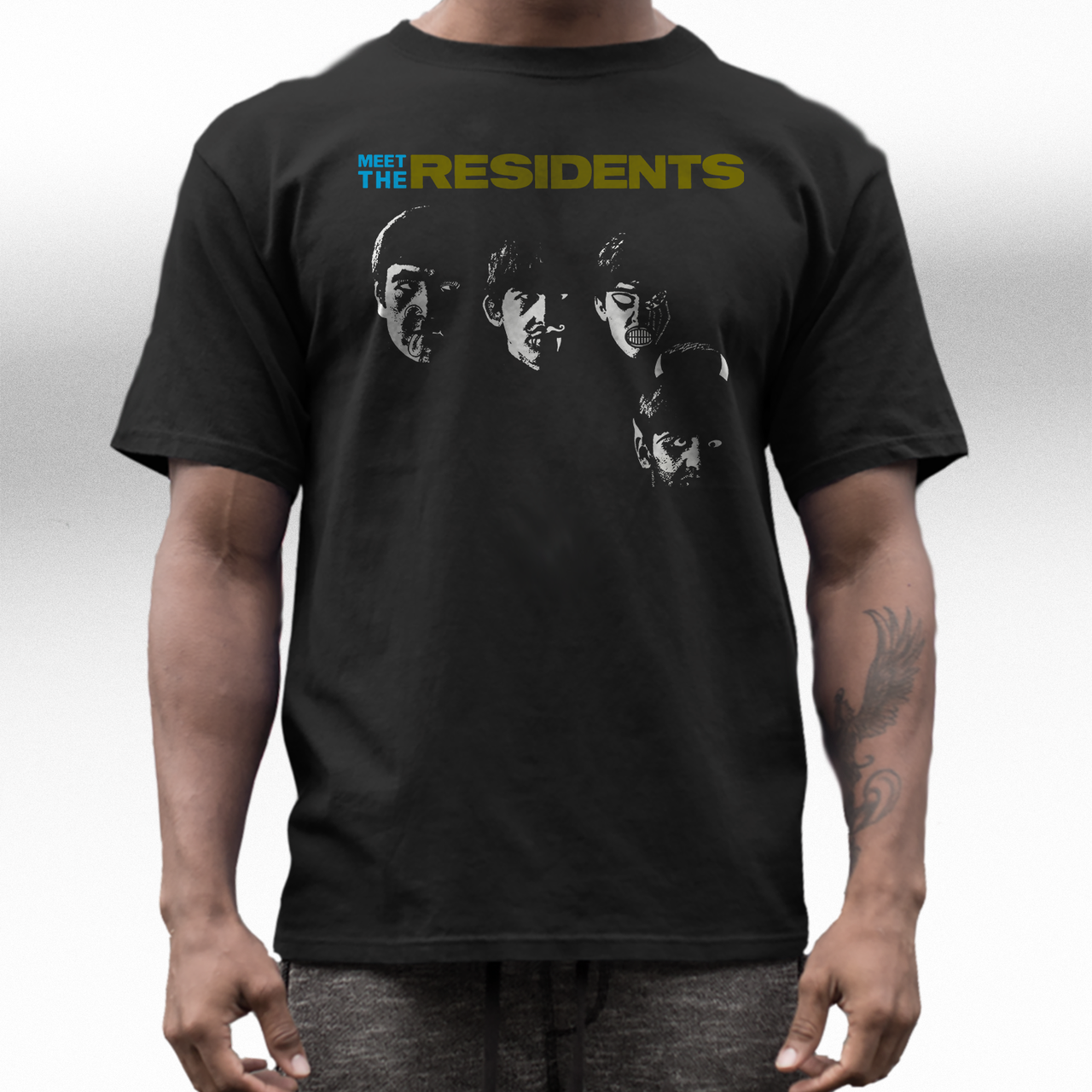Residents band  t  shirt