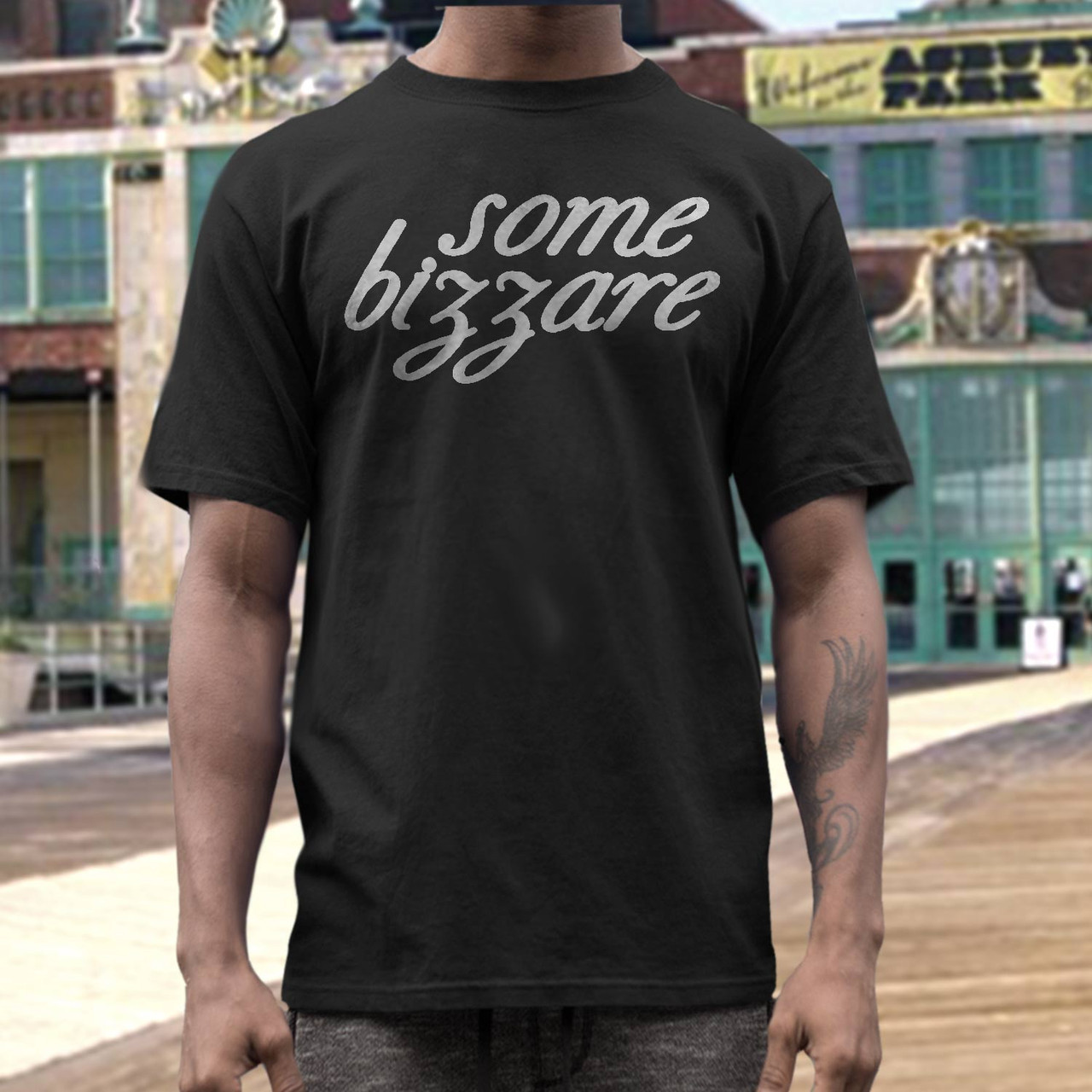 Some bizzare   records label t  shirt