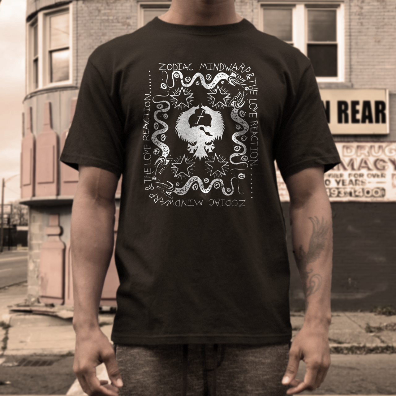 Zodiac Mindwarp band t shirt