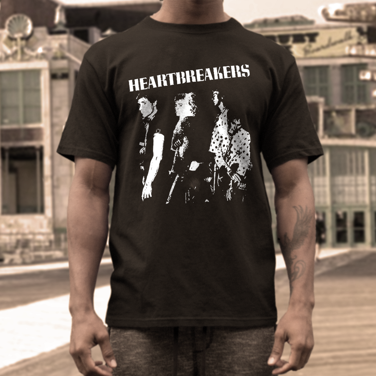 The Heartbreakers band t shirt Johnny  Thunders