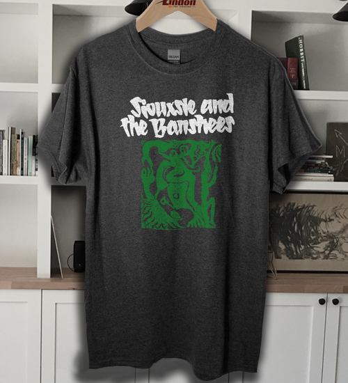 siouxsie and the banshees band t shirt