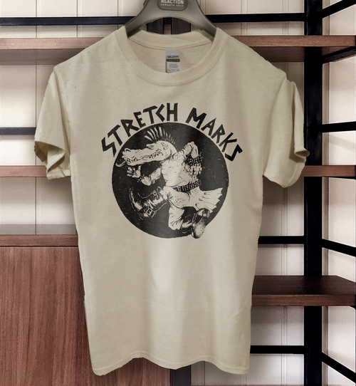Stretchmarks band t shirt canadian punk stretch marks