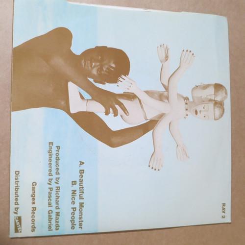 """Folk Devils 7""""  Beautiful Monster 1984 ganges records"""