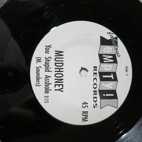 "Mudhoney / Gas Huffer  7"" You Stupid Asshole / Knife Manual"