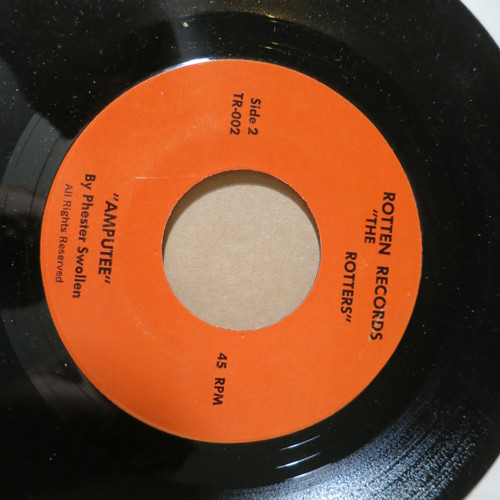"""The Rotters 7"""" Sit On My Face Stevie Nicks 1978 rotten records"""